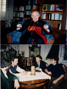 1989 Romainia with Cardinal Todea, imprisoned for many years by Ceaucescu, and Bishop Lazlo Tokes-62