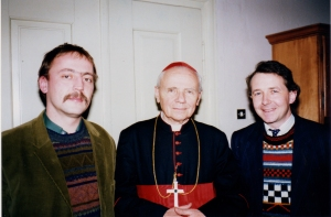 1989 with Greek Catholic Cardinal Todea and Jultz Nemeth