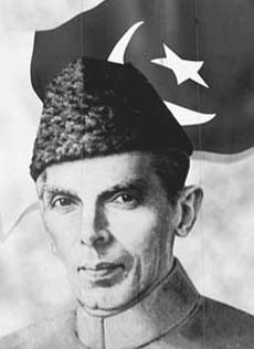 Mohammed Ali Jinnah - Pakistan's enlightened founding father who insisted that minorities should be given respect and protection in the new country.