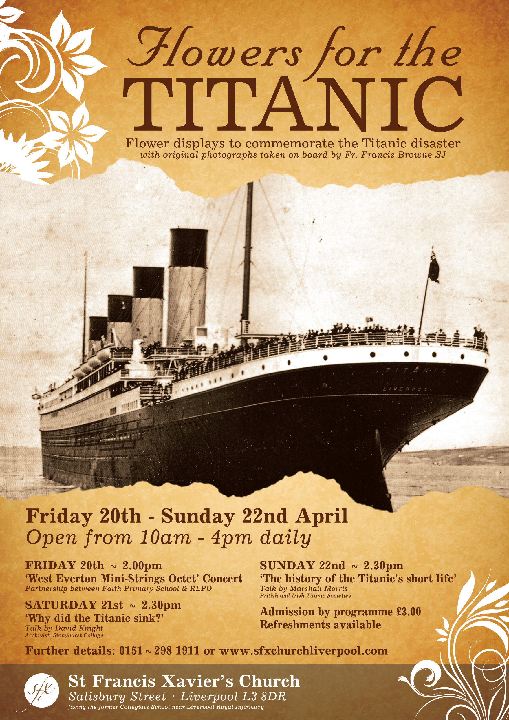 April 15th 1912, the sinking of Titanic - its link to a ...