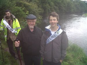 Jim Dobbin MP with James Alton - 2012 RTL Walk