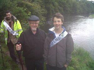 Jim Dobbin MP with James Alton - 2012 RTL Walk