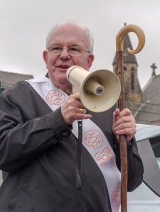 Archbishop Patrick Kelly - Liverpool's Archbishop Emeritus - tells the walkers to be consistently pro life, upholding the value and dignity of every life at every stage.