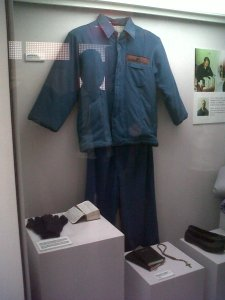 Kim Dae Jung Library - his prison uniform