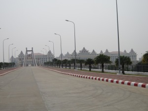 Naypyidaw - a parliament miles from any people