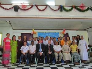 Award winners at Campion Institute, Rangoon.