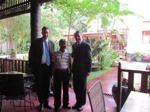 Meeting with Rohynga representatives in Rangoon