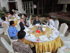 NLD Meeting at Rangoon's House of Memories