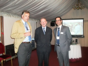 The House of Lords MOTEC reception at which the NUWLIFE project was unveiled
