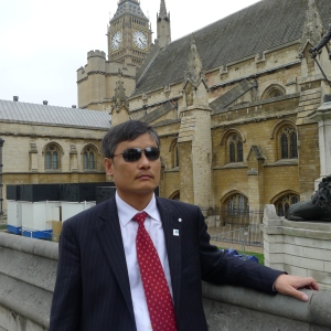 "Chen Guangcheng arrives at Westminster: ""It has taken a blind man to see what the world has refused to see."""