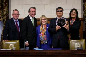 Chen is awarded the Westmintser Award for Human Rights  Human Life and Human Dignity