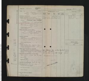 1918 - William Alton; RAF Service Record (findmypast; GBM_AIR79_2985_00164)