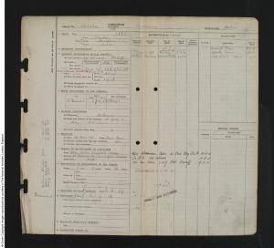 1918 - William Alton; RAF Service Record (findmypast; GBM_AIR79_2985_00164)