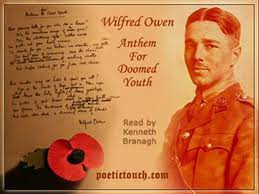 Wilfred Owen's Anthem for Doomed Youth