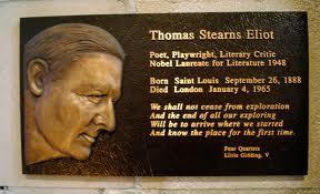 T.S.Eliot memorial stone