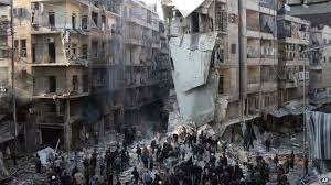 Barrel Bombs have rained down on Aleppo