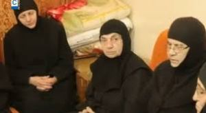 A new video of the abducted nuns has just appeared with their traditional cross removed from their habit.