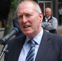 Rt.Hon Paul Goggins MP speaking at Action Mesothelioma Day in 2013