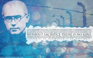 Maximilian Kolbe - murdered by the Nazis