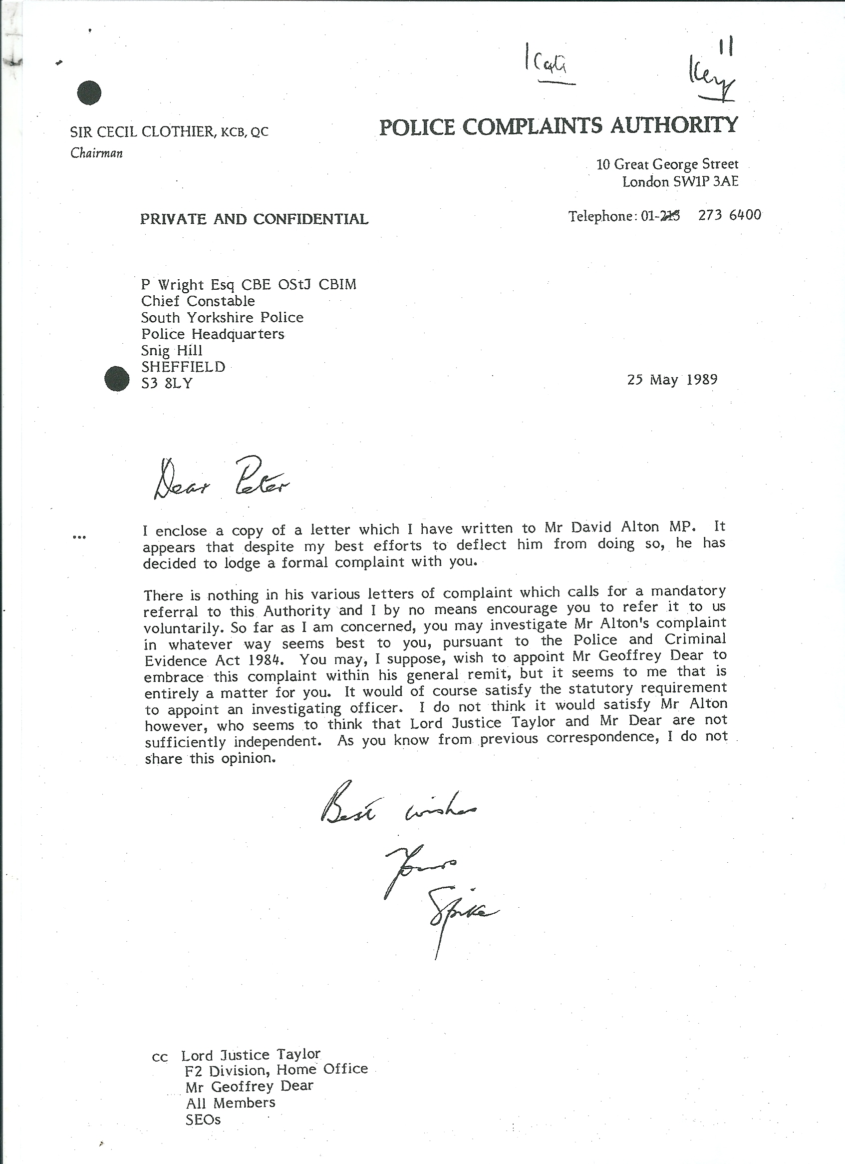 Citizenship Davidalton Writing Complaint Letter The Tone Of ...