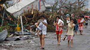 "In 2013, in the Philippines, 1.7 million children were seriously affected by Typhoon ""Haiyan""."