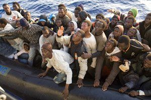Eritreans trying to leave Libya - where ISIS has beheaded Eritrean Christians