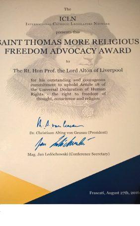 2016 saint thomas more award 2