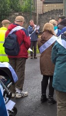 2017 Right to Life Walk in ribble Valley