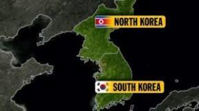 north korea map 2