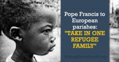 pope francis and refugees