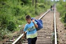 Refugee Childen UNICEF196290_MigrantBoy