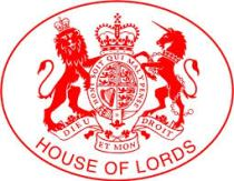 House of Lords Crest