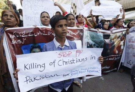 Pakistan christins