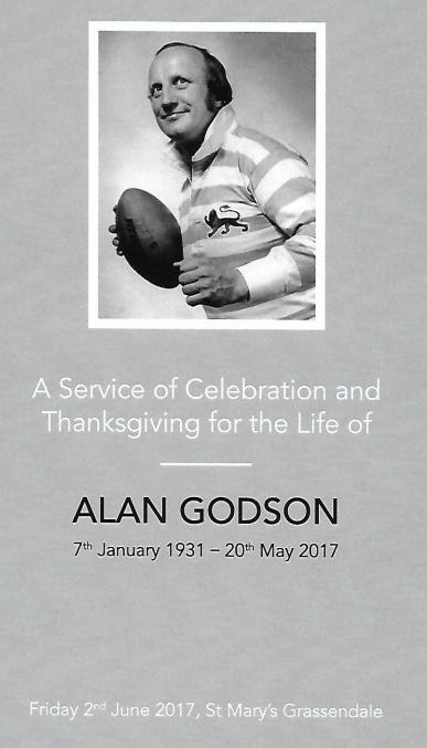 2017 Alan Godson Memorial Service