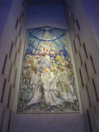 Georg Mayer-Marton's Pentecost mosaic Liverpool cathedral