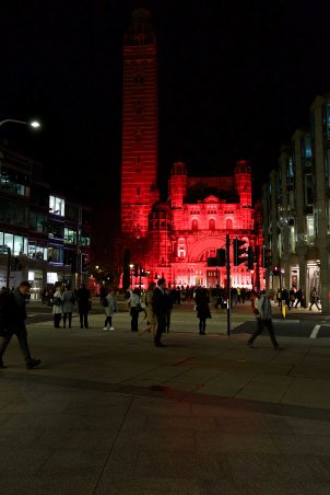 Red Wednesday 2017 Westminster Cathedral2