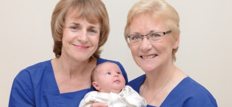 Scottish midwives who lost their jobs