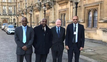 Sudan Protest 2019 Opposition Laders At Westminster