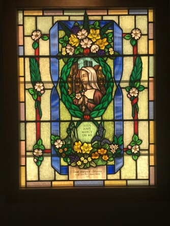 Margaret Clitherow Window made for Theodore House