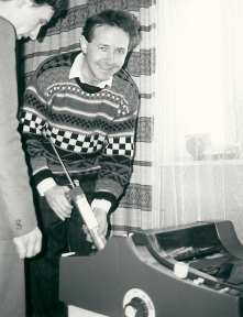 1987 in the Soviet Union with Alexander Ogorodnikov (importing the first legal printing press) (9)