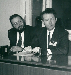 1992 Moscow with Alexander Ogorodnikov