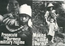 1998 Burma Campaign run by Jubilee Campaign