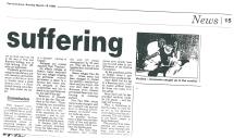 1998 Visit to the Burma-Thai border, the Karen Refugee Camps, Burmese buutality and Siser Love (10)