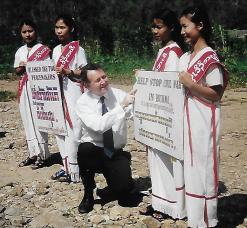 2003 Visit to Burma's Karen villages and refugee camps 20