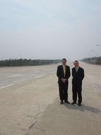 2013 - Burma Naypyidaw with Ben Rogers