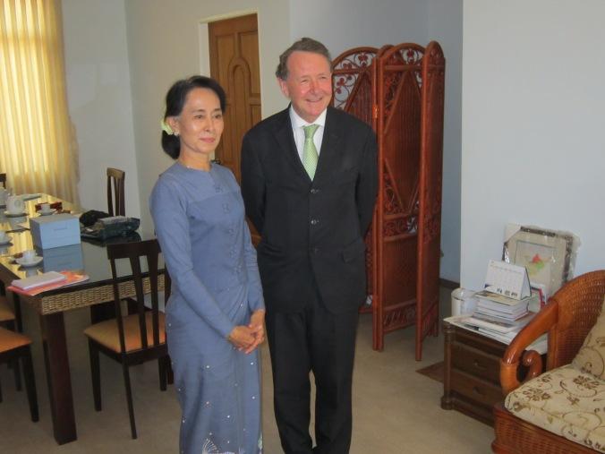 2013 - Burma with Daw Aung San Suu Kyi 2