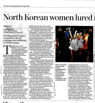 North Korean Women Trafficked and Exploited 1