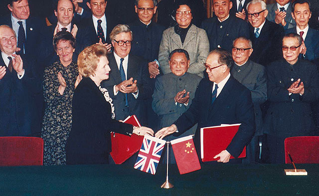 1984 Sino-British Joint Declaration