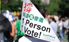 universal suffrage hong kong