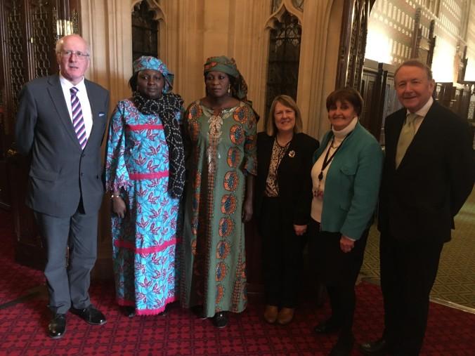 Rebecca Sharibu at Westminster